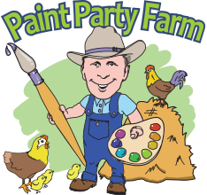 Paint Party Farm Mobile Logo
