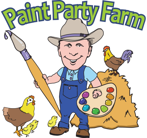 Paint Party Farm Retina Logo