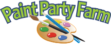 Paint Party Farm Sticky Logo