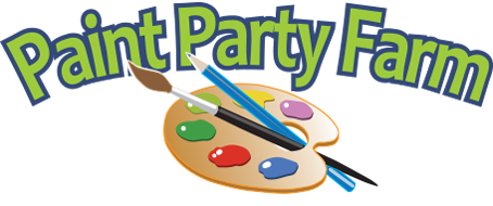 Paint Party Farm Sticky Logo Retina
