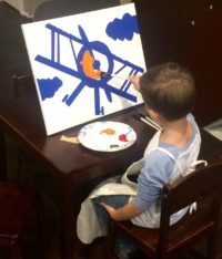 Airplane Painting