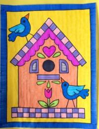 Busy Birdhouse
