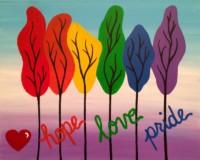 Pride Trees