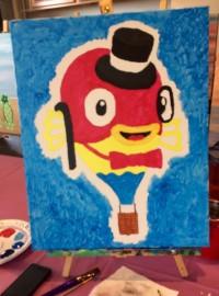 Mr Fish Balloon