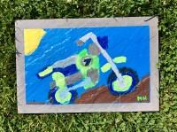 Slate Dirtbike