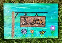 Slate Sign