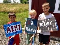 Boys Wood Signs
