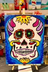Hollowed Eyes Skull