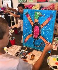 Lizard Painter