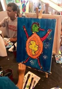 Lizard Painters