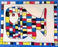 Mondrian Drawing