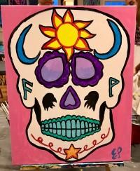Sun and Moon Skull