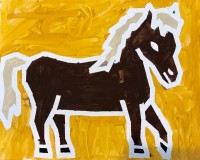 Taped Horse