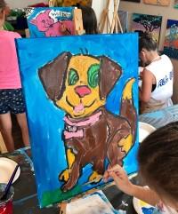 Puppy Dog Painter