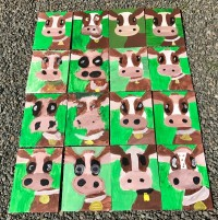 Group Cows