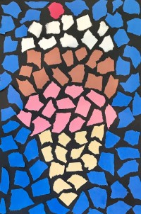 Ice Cream Mosaic