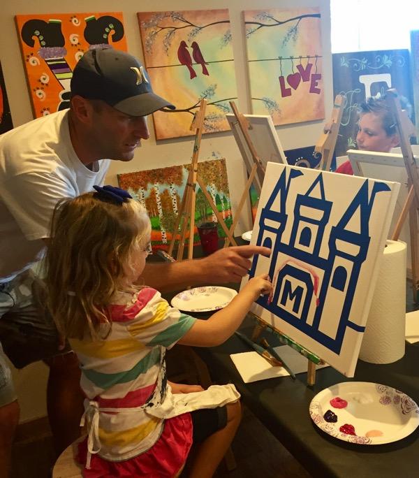 princess helper paint party farm