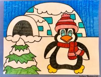 Igloo Penguin