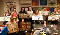 Ladies Wood Signs