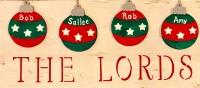 Rustic Family Ornaments