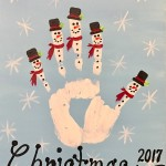 Snowmen Handprints