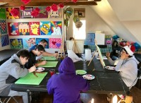 Creating Our Mural