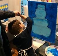 Snowy Painter