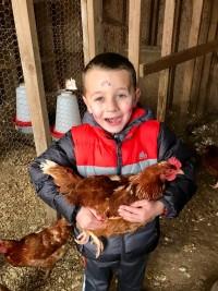 A Happy Hen