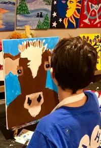 Cow Painter