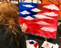 Patriotic Painter