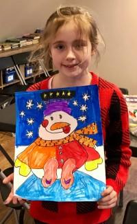 Snowman Drawing